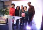 De g. à dr. : Paoline Ekambi, Laura Flessel, Christine Kelly, Céline Dumerc et Mariama Signaté. © Marie Etchegoyen/CSA.