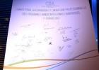 La charte a été signée par de nombreux représentants du secteur de la culture et de l'audiovisuel - Photo CSA/Marie Etchegoyen
