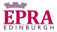Logotipo EPRA Edimburgo