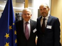 Sres. Olivier Schrameck y Damir Hajduk _ERGA_ noviembre de 2017 _CSA